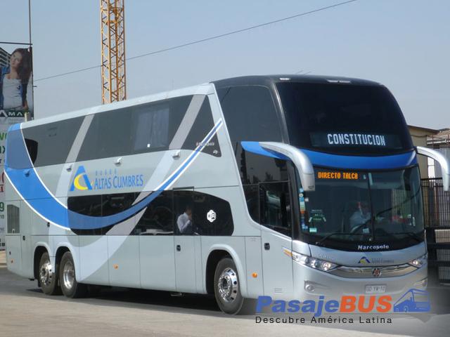 buses altas cumbres chile