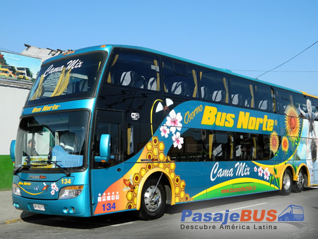 bus norte pasajes bus
