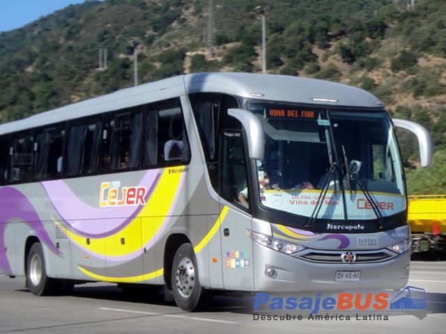 Buses Cejer es una empresa de buses que ofrece viajes hacia el litoral central y ciudades del norte. Viaja con PasajeBus.com