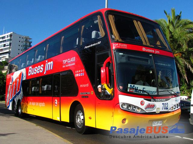 Buses JM es una empresa de buses con destinos como Concepción, Talcahuano, Chillán, Viña del Mar, Valparaíso, etc. Viaja con PasajeBus.com, pasaje bus, pasajes bus, recorrido, pasajebus