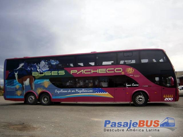 Buses Pacheco es una empresa de buses que ofrece recorridos en Punta Arenas y Puerto Natales. Viaja con PasajeBus.com, pasaje bus, pasajes bus, recorrido, pasajebus