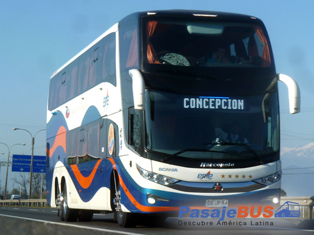 Empresa de buses con rutas hacia el sur y en la zona centro del país. Viaja con PasajeBus.com
