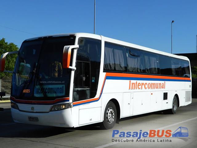 Buses Intercomunal es una empresa de buses que ofrece recorridos a ciudades del norte como Los Vilos y Los Molles. Viaja con PasajeBus.com, pasaje bus, pasajes bus, recorrido, pasajebus