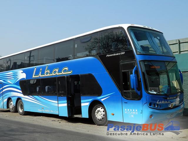 empresas de buses libac con rutas al norte del pais. Viaja con PasajeBus.com