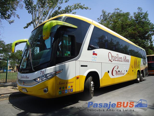 Queilen Bus es una empresa de buses con recorridos hacia el sur. Llega a Chillan, Puerto Montt, Castro, Valdivia, Santiago y otras ciudades. Viaja con PasajeBus.com, pasaje bus, pasajes bus, recorrido, pasajebus