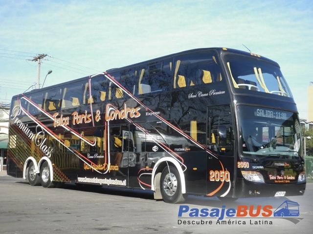 Empresa de buses que ofrece rutas principalmente a Talca. Viaja con PasajeBus.com
