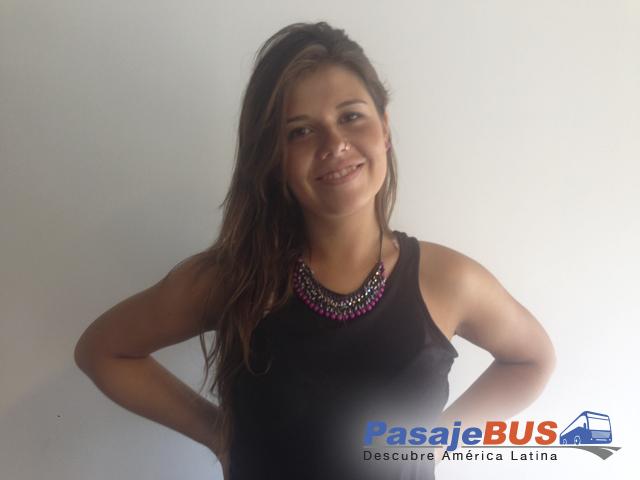 Consuelo aportando para el blog de pasajebus