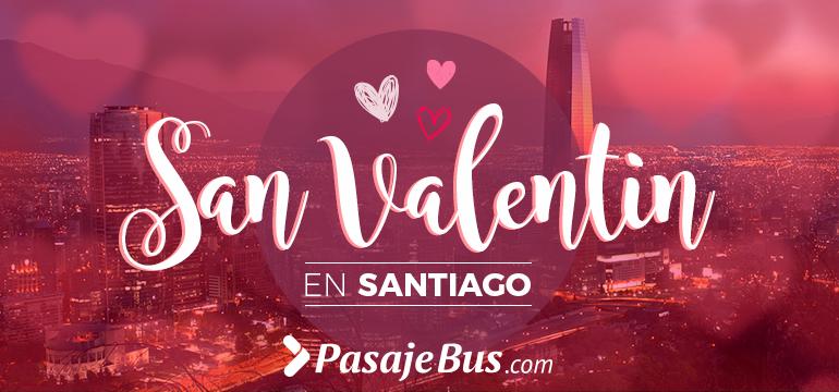 San Valentin en Santiago