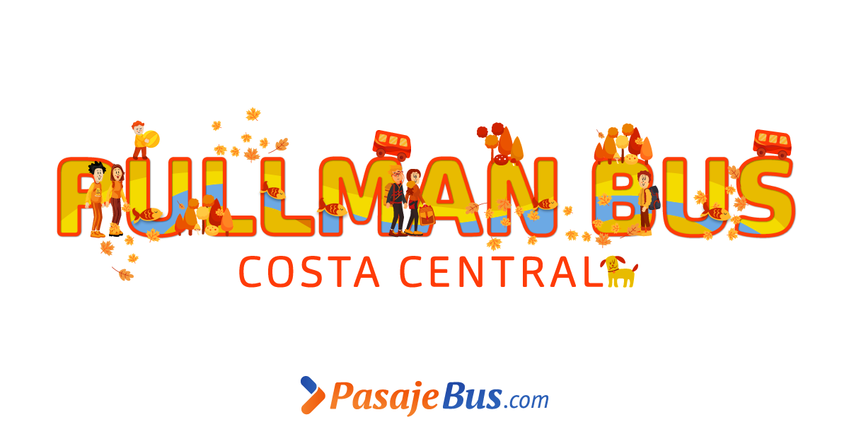 Pasajes de bus de Pullman Costa Central