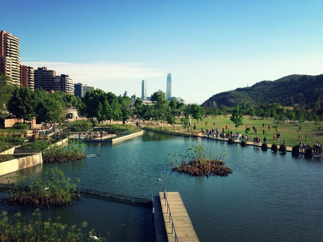 Parque Bicentenario de Santiago