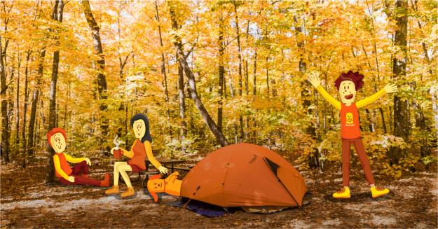 5 lugares para acampar en el norte